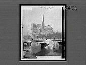 view [Bridge over Seine and Notre Dame Cathedral in Paris. Active no. 29594 : Interpositive.] digital asset: [Bridge over Seine and Notre Dame Cathedral in Paris. Active no. 29594 : Interpositive.]