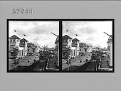 view Lewis & Clark Avenue from Mass. Building. [Active no. 8610 : stereo photonegative.] digital asset: Lewis & Clark Avenue from Mass. Building. [Active no. 8610 : stereo photonegative.]