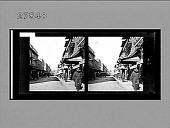 view [Street scene.] 12344 Photonegative digital asset number 1