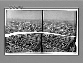 view From Ferris Wheel down over French garden and building to Brazil, Siam, etc. [Active no. 5837 : stereo interpositive,] digital asset: From Ferris Wheel down over French garden and building to Brazil, Siam, etc. [Active no. 5837 : stereo interpositive,] 1904.