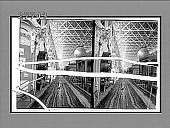 view Main aisle of the Agricultural Building about a third of a mile long. [Active no. 5842 : stereo interpositive,] digital asset: Main aisle of the Agricultural Building about a third of a mile long. [Active no. 5842 : stereo interpositive,] 1903.