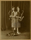 view Photographs of the Falcons and fellow vaudevillians, some personal and some presumably taken for publicity digital asset: Photographs of the Falcons and fellow vaudevillians, some personal and some presumably taken for publicity