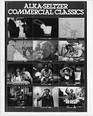 view [Alka-Seltzer Commercial Classics: b & w photoprint] digital asset: [Alka-Seltzer Commercial Classics: b & w photoprint]