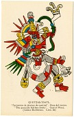 view Quetzalcoatl [picture postcard] digital asset: Quetzalcoatl [picture postcard].