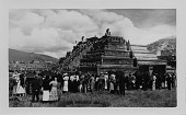 view [Pyramids, Teotihuacan, Mexico : picture postcard.] digital asset: [Pyramids, Teotihuacan, Mexico : picture postcard.]