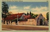 view Ramona's Birthplace, San Gabriel, California [picture postcard] digital asset: Ramona's Birthplace, San Gabriel, California [picture postcard].