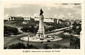 view Lisboa. Monumento ao Marques de Pombal. [picture postcard] digital asset: Lisboa. Monumento ao Marques de Pombal. [picture postcard].