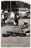 view Esperando el marchante, Mexico [picture postcard] digital asset: Esperando el marchante, Mexico [picture postcard].