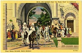 """view Old Spanish Days, """"La Fiesta Time"""" in California. [Picture postcards.] digital asset: Old Spanish Days, """"La Fiesta Time"""" in California. [Picture postcards.]"""
