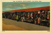 view The Mercado, San Antonio, Texas [postcard] digital asset: The Mercado, San Antonio, Texas [postcard].