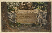 view Grave of British Soldiers, Concord, Massachusetts [picture postcard] digital asset: Grave of British Soldiers, Concord, Massachusetts [picture postcard].