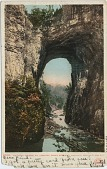 view Natural Bridge, Virginia [picture postcard] digital asset: Natural Bridge, Virginia [picture postcard].