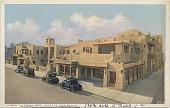 view La Fonda Hotel, Santa Fe, New Mexico [postcard] digital asset: La Fonda Hotel, Santa Fe, New Mexico [postcard].