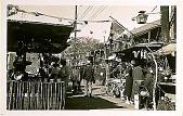 view Santa Monica, California [black-and-white picture postcard digital asset: Santa Monica, California [black-and-white picture postcard.