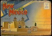 view New Mexico [picture postcard booklet] digital asset: New Mexico [picture postcard booklet].