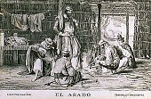 view El Asado [picture postcard] digital asset: El Asado [picture postcard].