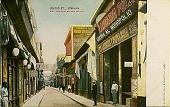 view Obispo Street, Havana--Most prominent business section [picture postcard] digital asset: Obispo Street, Havana--Most prominent business section [picture postcard].