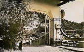view Hotel Rancho Telva, Taxco, Guerrero [picture postcard] digital asset: Hotel Rancho Telva, Taxco, Guerrero [picture postcard].