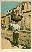 view Bread Man, Havana, Cuba [picture postcard] digital asset: Bread Man, Havana, Cuba [picture postcard].