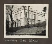 view Penzance Cable Station [Penzance, England, black--and-white photoprint] digital asset: Penzance Cable Station [Penzance, England, 1925; black--and-white photoprint].