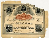 view Old Time Telegraphers Association, [certificate] digital asset: Old Time Telegraphers Association, [certificate]