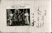 view [Clerks and messengers, Raleigh, North Carolina : photoprint] digital asset: [Clerks and messengers, Raleigh, North Carolina : photoprint, 1912.]