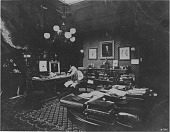 view [Samuel F.B. Morse in his study : black-and-white photoprint.] digital asset: [Samuel F.B. Morse in his study : black-and-white photoprint.]