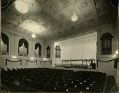 view Auditorium, American Academy of Arts and Letters, New York : [photoprint] digital asset: Auditorium, American Academy of Arts and Letters, New York : [photoprint]