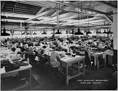 view Jantzen Knitting Mills first inspection department, Portland factory, Oregon [photoprint] digital asset: Jantzen Knitting Mills first inspection department, Portland factory, Oregon [photoprint],