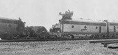 view Atchison, Topeka, and Santa Fe Railroad train accident, [photoprint] digital asset: Atchison, Topeka, and Santa Fe Railroad train accident, [photoprint]