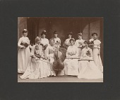 view One of the early ladies ... [orchestras] [photoprint] digital asset: One of the early ladies ... [orchestras] [photoprint].