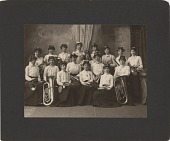 view Helen May Butler's Military Band ... [photoprint] digital asset: Helen May Butler's Military Band ... [photoprint]
