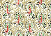 view Modern Vogue Decorated Gift Wrapping Papers, [sample book] digital asset: Modern Vogue Decorated Gift Wrapping Papers, [sample book].