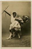 view Le Cake-Walk/Dansʹe au Nouveau Cirque. Les Enfants Nʹegres. 142/5 [photographic postcard] digital asset: Le Cake-Walk / Dans{softsign}e au Nouveau Cirque. Les Enfants N{softsign}egres. 142/5 [photographic postcard].