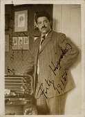 view Fritz Kreisler [photoprint] digital asset: Fritz Kreisler [photoprint].