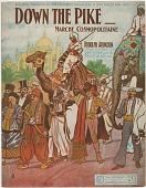 view Down the Pike [sheet music] digital asset: Down the Pike [sheet music], 1904.