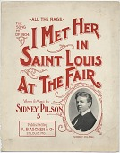 view I Met Her in Saint Louis at the Fair [sheet music] digital asset: I Met Her in Saint Louis at the Fair [sheet music], 1904.
