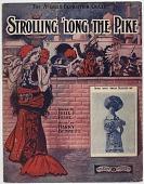 view Strolling 'Long the Pike [sheet music] digital asset: Strolling 'Long the Pike [sheet music], 1904.