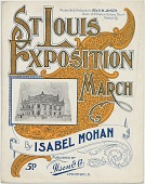 view St. Louis Exposition March [sheet music] digital asset: St. Louis Exposition March [sheet music], 1904.