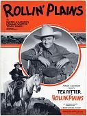 view Rollin' Plains [sheet music] digital asset: Rollin' Plains [sheet music], 1938.