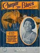 view Chirpin' the Blues [sheet music] digital asset: Chirpin' the Blues [sheet music], 1923.