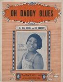 view Oh Daddy Blues [sheet music] digital asset: Oh Daddy Blues [sheet music], 1923.