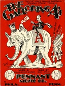 view The Galloping A's [sheet music] digital asset: The Galloping A's [sheet music], 1929.