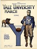 view Yale University March [sheet music] digital asset: Yale University March [sheet music], 1913.