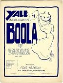 view Yale Boola [sheet music] digital asset: Yale Boola [sheet music], 1901.