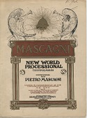 view New World Processional Triumphal March [sheet music] digital asset: New World Processional Triumphal March [sheet music], 1904.
