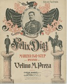 view Felix Diaz Marcha-Two-Step [sheet music] digital asset: Felix Diaz Marcha-Two-Step [sheet music].