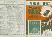 view African Blues / West Indian Tunes: [sheet music] digital asset: African Blues / West Indian Tunes: [sheet music].