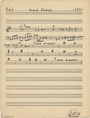 view Mood Indigo [music manuscript] digital asset: Mood Indigo [music manuscript].