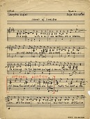 view Heart of Harlem [music manuscript] digital asset: Heart of Harlem [music manuscript].